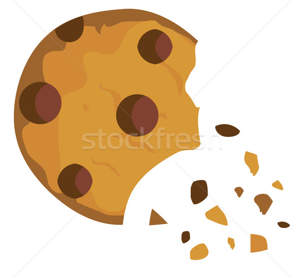 Vector Chocolate Chip Cookie  Stock photo © lilac
