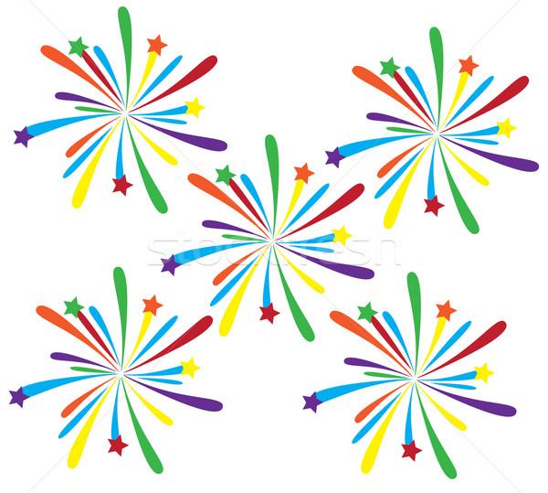 Fireworks Stock photo © lilac