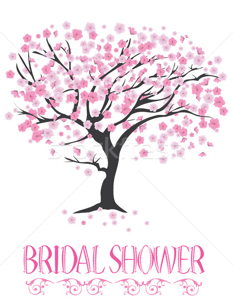 Bridal Shower Card Stock photo © lilac
