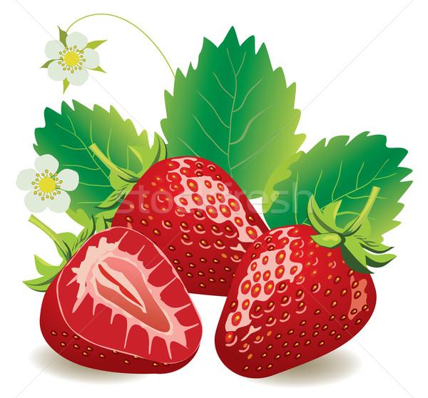 Strawberries Stock photo © lilac