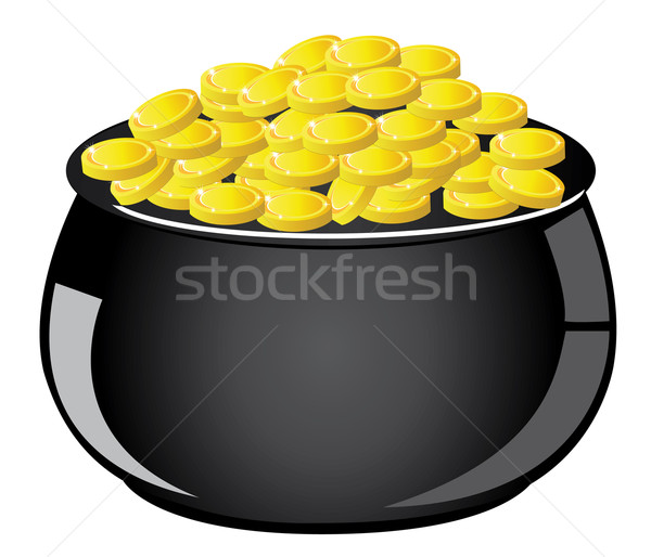 Gold Pot Stock photo © lilac