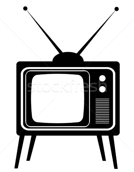 vector old tv Stock photo © lilac