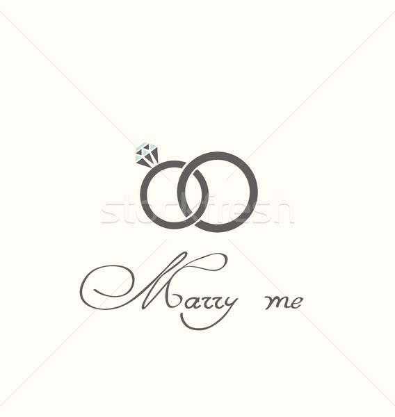 Wedding Rings Stock photo © lilac