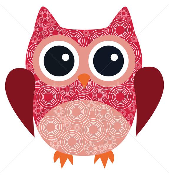 Vector owl bird vector illustration lilac 6790240 stockfresh add to lightbox download comp stopboris Choice Image