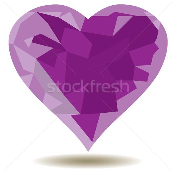 Vector Valentine Card Stock photo © lilac