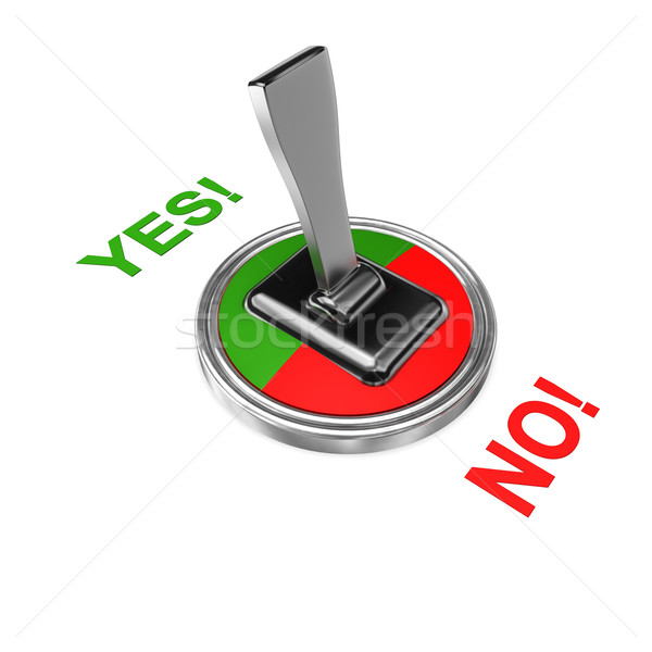 Stock photo: Yes No