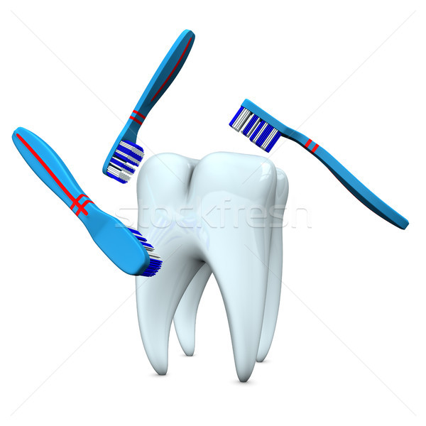 Toothbrush Stock photo © limbi007
