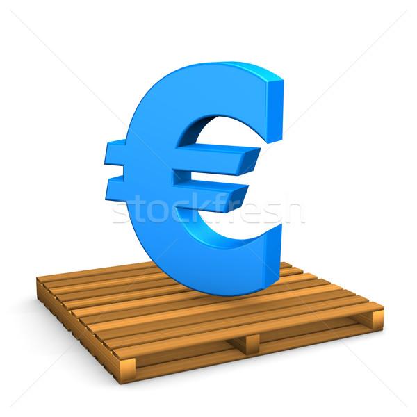 Pallet Euro Stock photo © limbi007