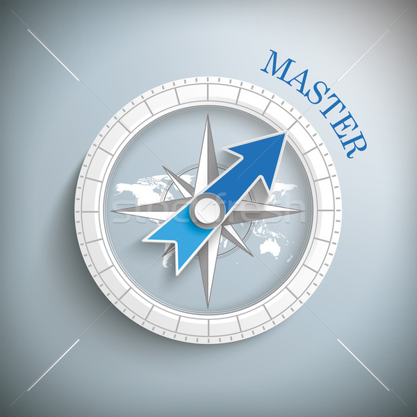 Compass Master Stock photo © limbi007