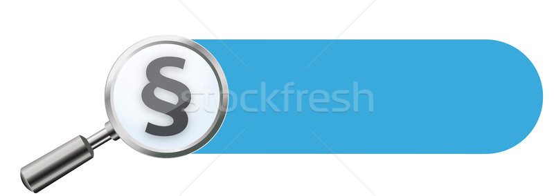 Loupe Black Paragraph Banner Stock photo © limbi007