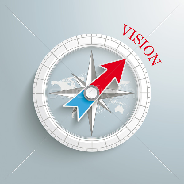 Compass Vision Stock photo © limbi007