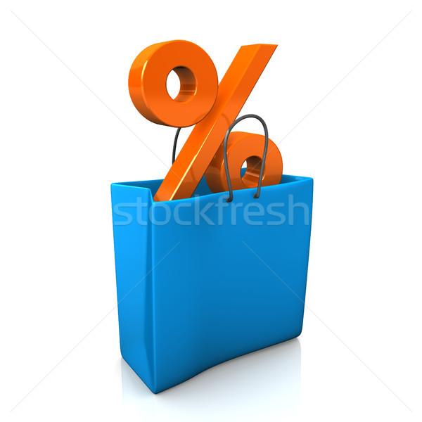 Sale Shopping Bag Stock photo © limbi007