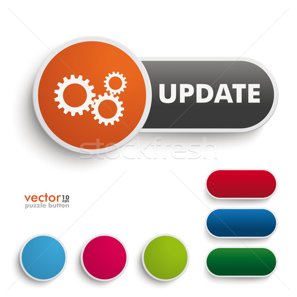Update Button Stock photo © limbi007