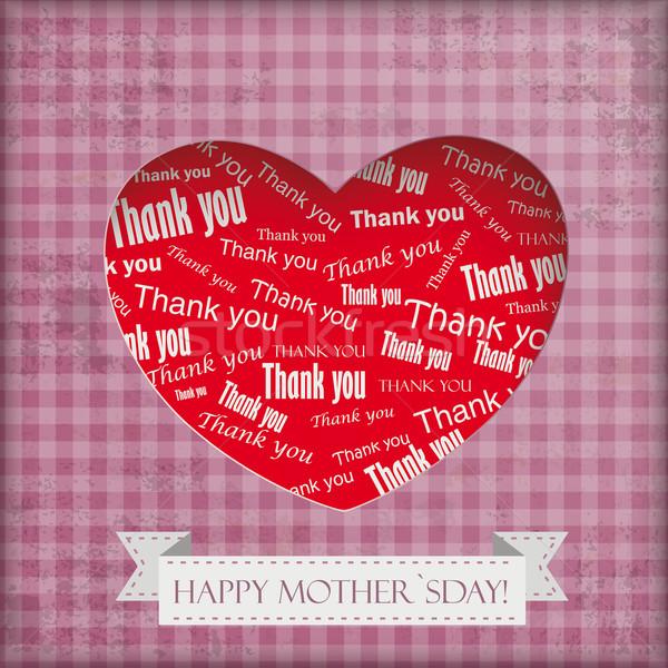 Vintage Mothersday Background Stock photo © limbi007