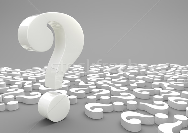 Big Question Stock photo © limbi007