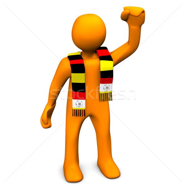German Soccer Fan Stock photo © limbi007