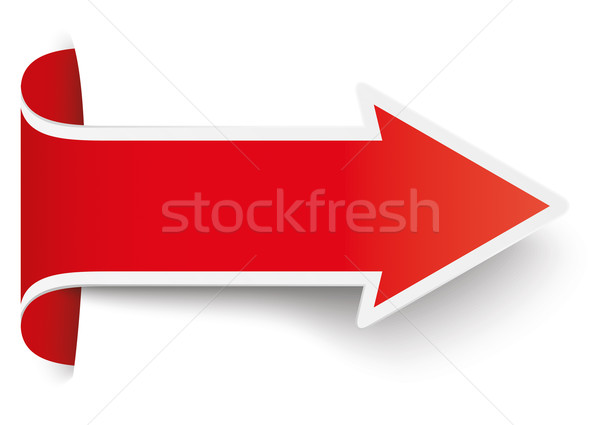 Red Convert Arrow Stock photo © limbi007