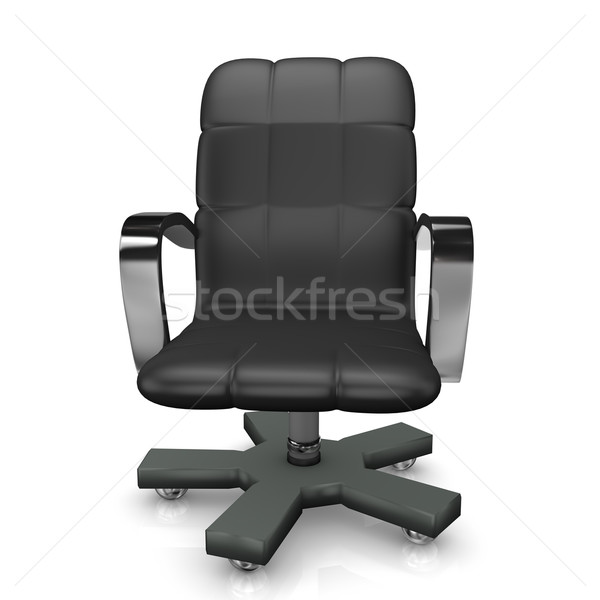 Poltrona preto branco escritório chef Foto stock © limbi007