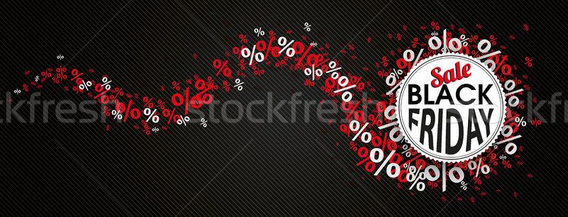 ブラックフライデー エンブレム 赤 ヘビ ヘッダ 紙 ストックフォト © limbi007