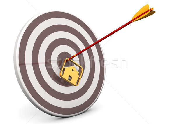 House Bullseye Target Stock photo © limbi007
