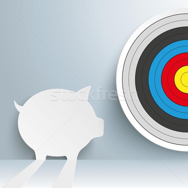 Piggy Bank Target Stock photo © limbi007
