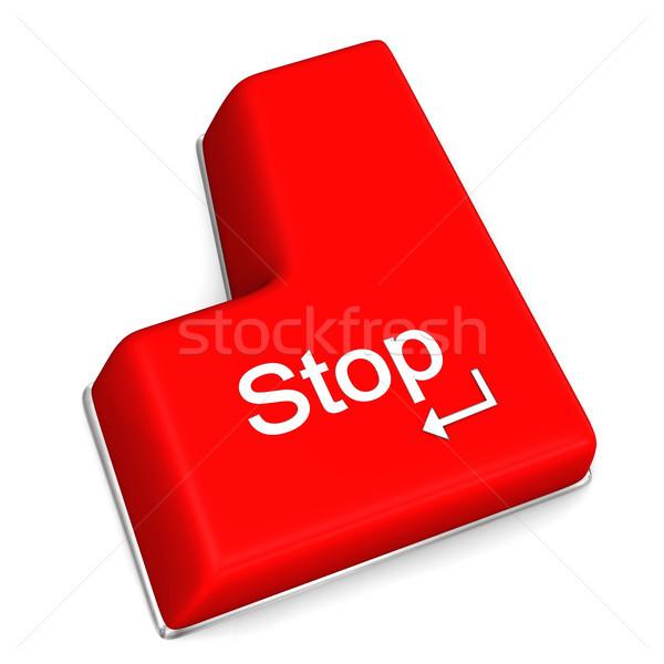Stop Enter Key Stock photo © limbi007