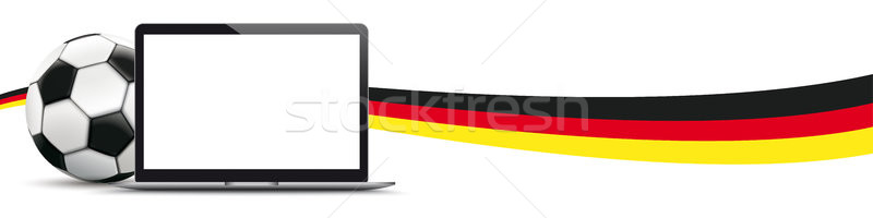 Football Germany Notebook Header Stock photo © limbi007
