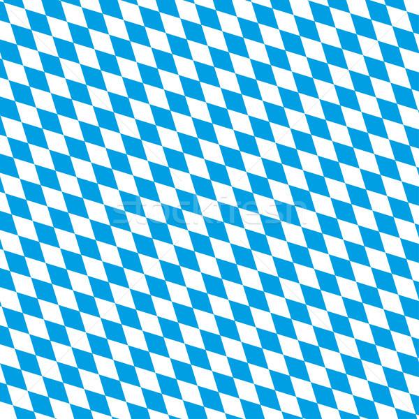 Oktoberfest Background Bavarian National Colors Stock photo © limbi007