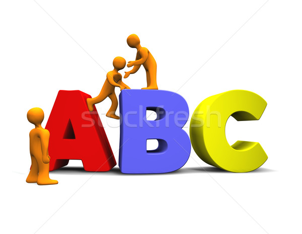 ABC 3D Stock photo © limbi007
