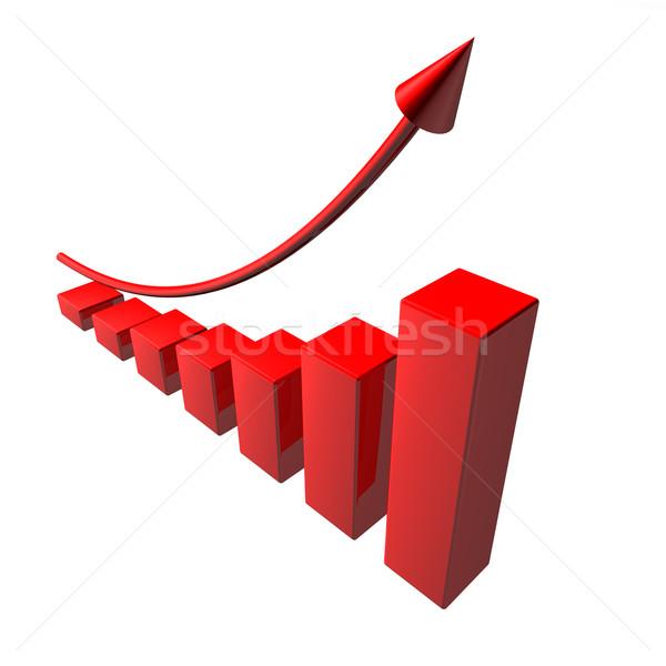Red Arrow Business Stock photo © limbi007