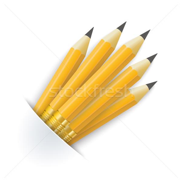 Convert Pencils Bag Stock photo © limbi007