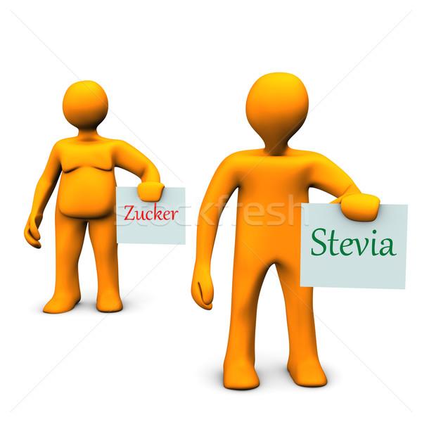 Stevia Zucker Stock photo © limbi007