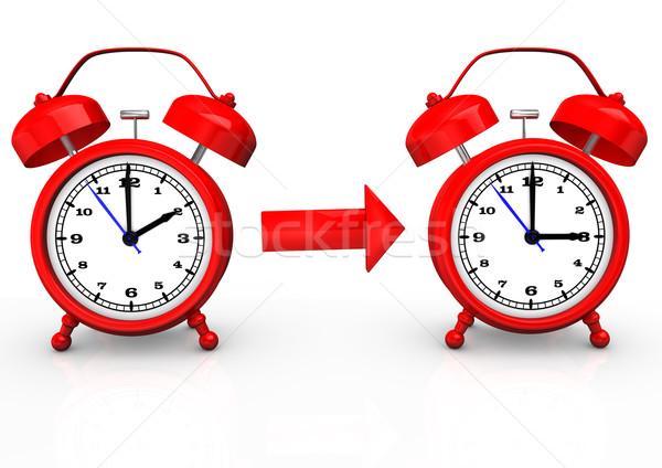Time Change To Summer Time Stock photo © limbi007