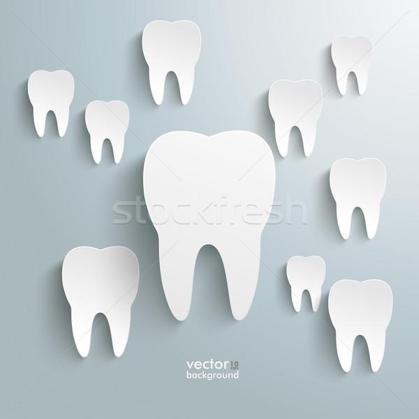 White Teeth Stock photo © limbi007