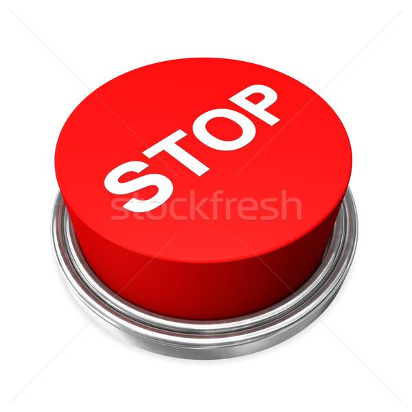 Stopp Button Stock photo © limbi007