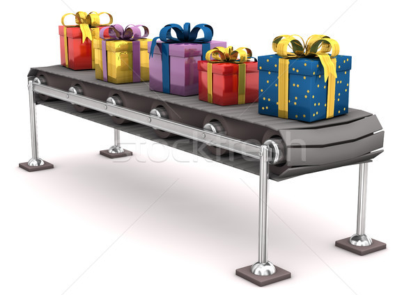 Gifts On Line Stock photo © limbi007