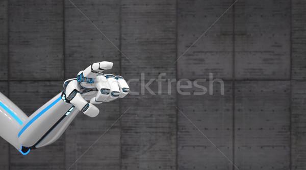 Robot Hand Click Stock photo © limbi007
