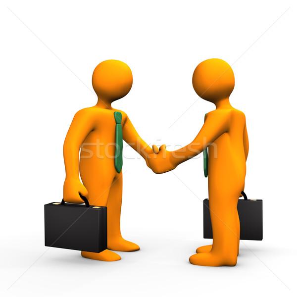 Handshake Stock photo © limbi007