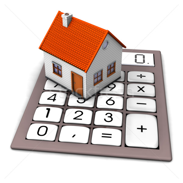 House Calculation Stock photo © limbi007