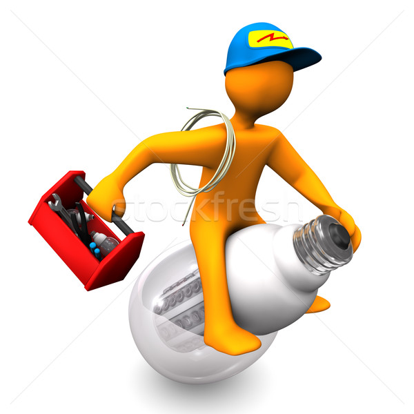 Electrician Rides Stock photo © limbi007
