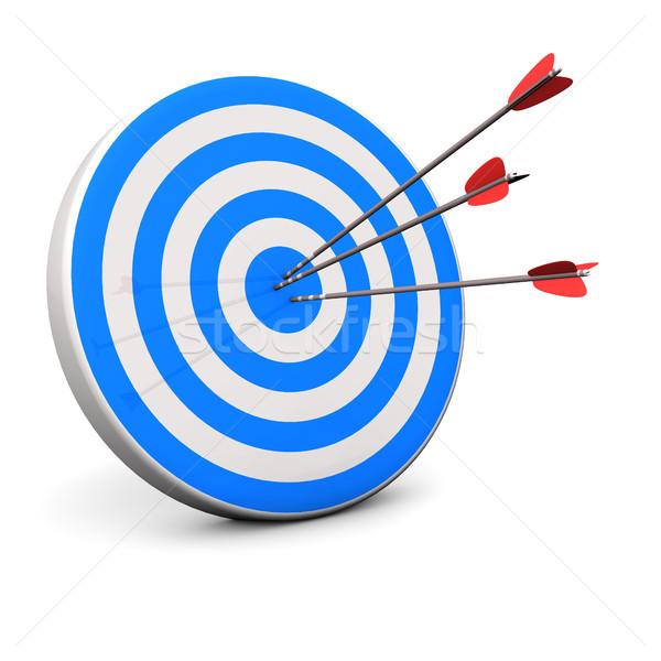 Blue Target Stock photo © limbi007
