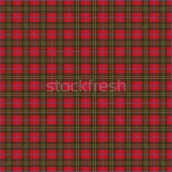 Scottish Tartan Pattern Stock photo © limbi007