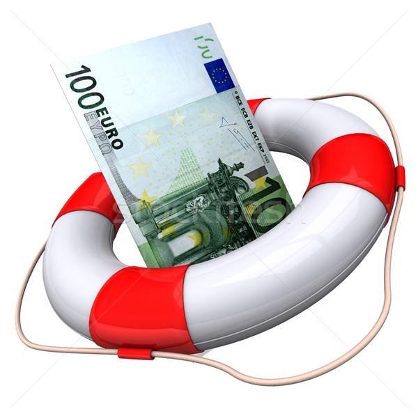 Lifebelt Euro Stock photo © limbi007