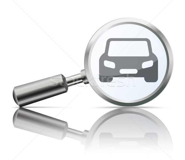 Loupe Mirror Car Stock photo © limbi007