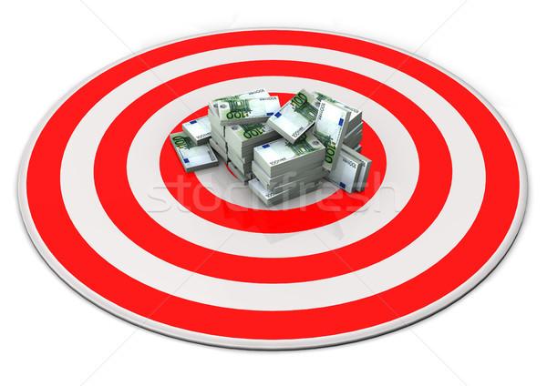 Target Money Euro Stock photo © limbi007