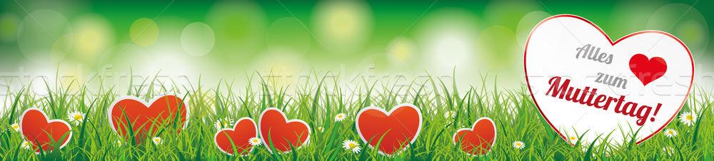 Сток-фото: весны · трава · текста · прибыль · на · акцию