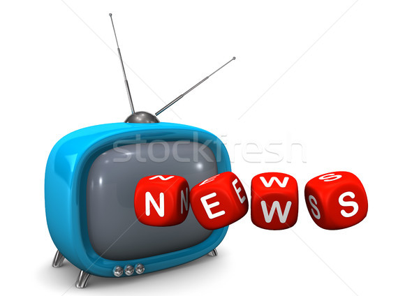 News TV Stock photo © limbi007