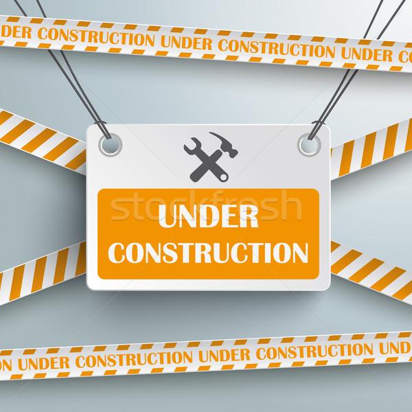 Under Construction Stock photo © limbi007