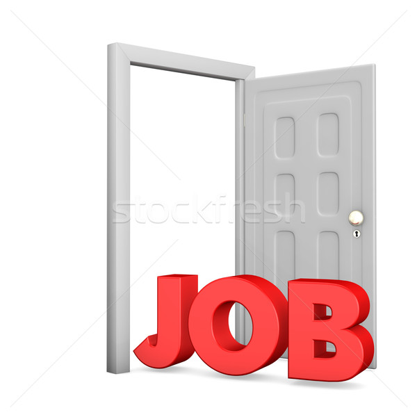 Job Door Stock photo © limbi007