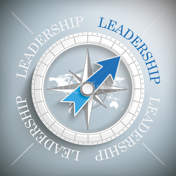 Stock photo: Compass Leadership